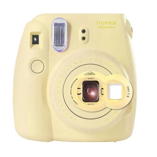 dc09fce17 Katia Close Up Lens with Self-portrait Mirror for Fujifilm Instax Mini 8/  Mini 8+/ Mini 9 Instant Film Camera (Yellow) | Best Buy Canada
