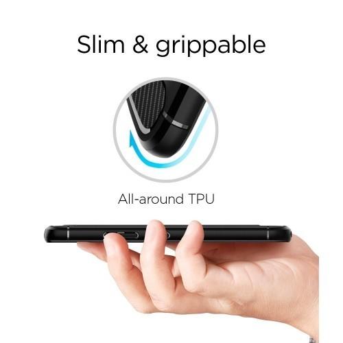 buy online 07a2a 5555c Moto G5S Plus Case, Spigen Rugged Armor - Resilient Shock Absorption and  Carbon Fiber Design for Motorola G5S Plus (2017) - Bl