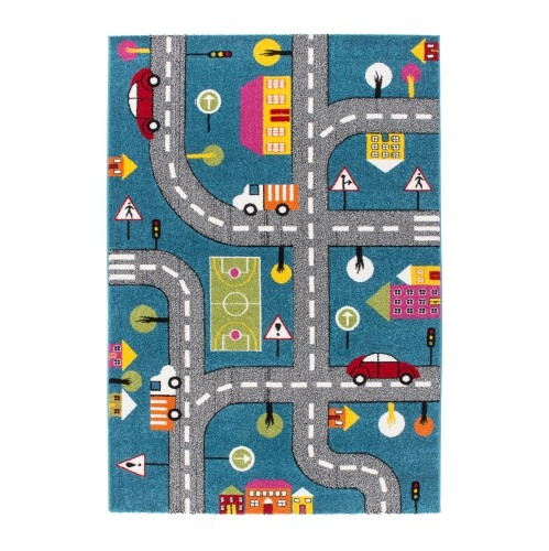 best place to buy area rugs. Kids Area Rug Carpet With Cars And Roads City Theme In Blue, 5\u00272\ Best Place To Buy Rugs S