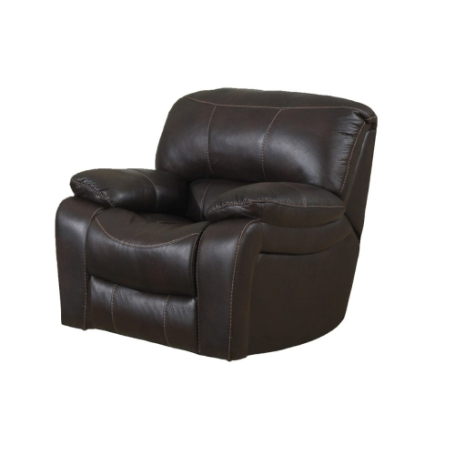Awesome Chocolate Coloured Air Leather Contemporary Design Recliner Chair With Extra Wide Seating And High Back Rest Spiritservingveterans Wood Chair Design Ideas Spiritservingveteransorg