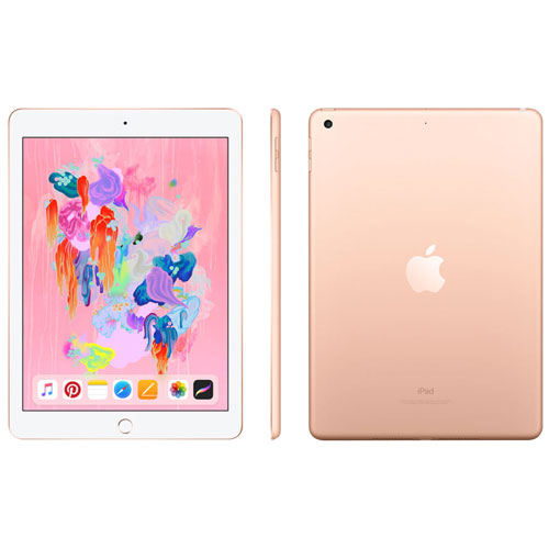 """Apple iPad 9.7"""" 32GB with Wi-Fi - Gold"""