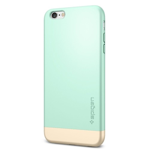hot sales 72034 b2341 Spigen Style Armor iPhone 6S Plus Case with Soft-Interior Scratch  Protection for iPhone 6S Plus / iPhone 6 Plus - Mint