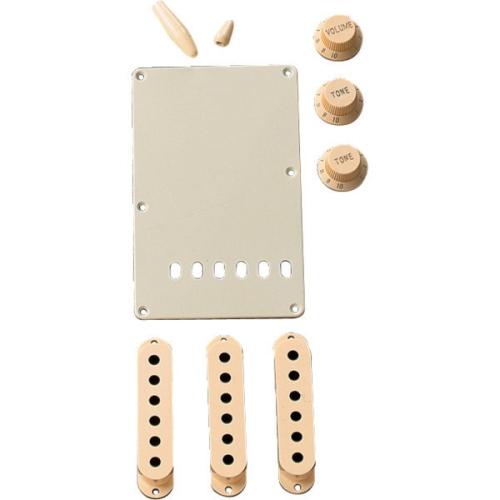 Fender Stratocaster Accessory Kit - Aged White