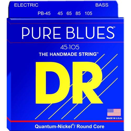 DR Strings PB-45 Pure Blues Bass Guitar Strings