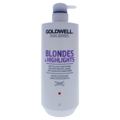 Dual Senses Blondes & Highlights Anti-Yellow Conditioner - 1000ml-33.8oz