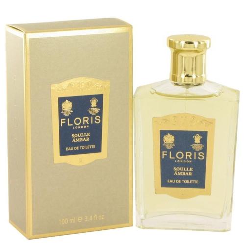 Floris Soulle Ambar par Floris Eau De Toilette Vaporisateur 3.4 oz