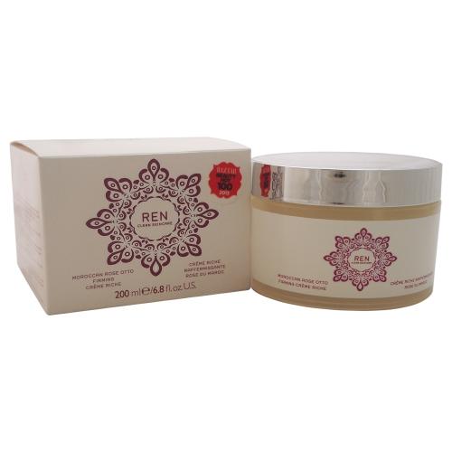 Moroccan Rose Otto Firming Creme Riche by REN for Unisex - 6.7 oz Cream