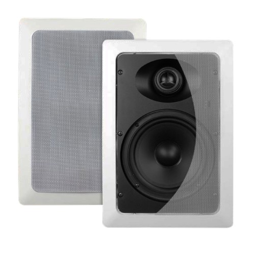 SyncSound SS IWS 6 65 In Wall 70 Watts 8 Ohms Speakers White 1 Pair