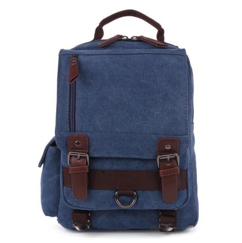 Canvas backpack blue - small size - ideal for tablet with exterior cell  phone pocket   Backpacks - Best Buy Canada 4cf1ad4ee16dd