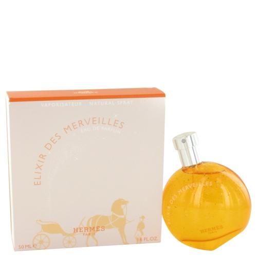 Eau Des Merveilles Elixir By Hermes Eau De Parfum Spray 17 Oz