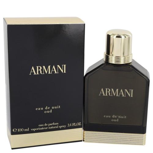 Armani Eau De Nuit Oud By Giorgio Armani Eau De Parfum Spray 34 Oz