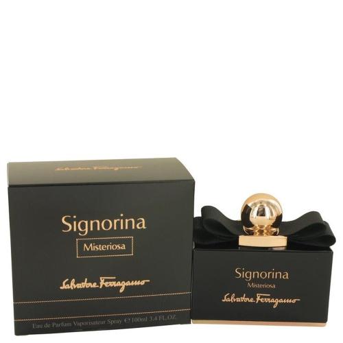 Mysterious Signorina par Salvatore Ferragamo Eau De Parfum Vaporisateur 3.4 oz