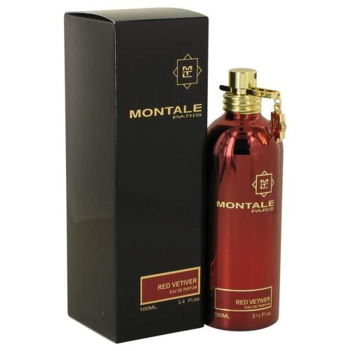 Montale Red Vetiver by Montale Eau De Parfum Spray 3.4 oz