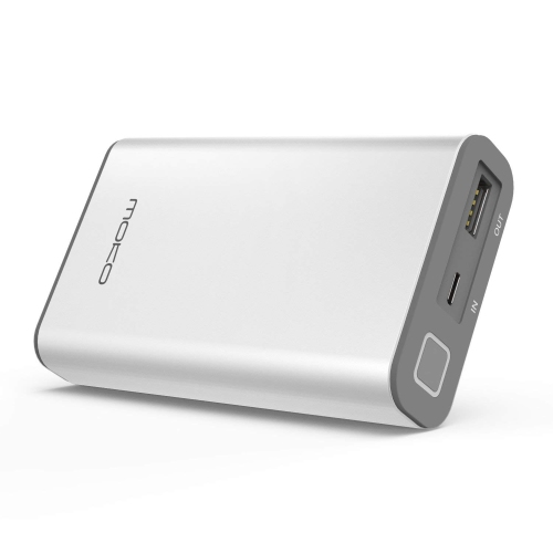 reputable site 25c66 03779 10050mAh QC 3.0 Power Bank, [Fast & Compact] MoKo High Speed Charging  External Battery Charger QC 3.0 Port for iPhone X/ 8/ 8