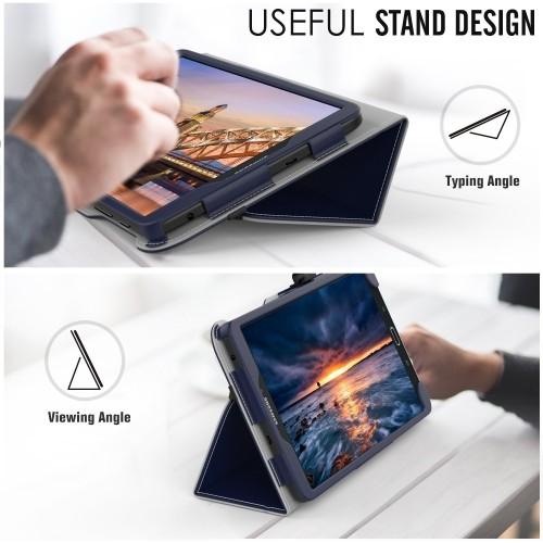 new styles 8eb87 ed74d MoKo Samsung Galaxy Tab E 8.0 Case - Slim Folding Cover Case for Samsung  Galaxy Tab E 8.0 Inch SM-T377 4G LTE Verizon / Sprint