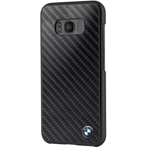 hot sales f2d09 0fae2 Bmw Fitted Hard Shell Case for Samsung S8 Plus - Black