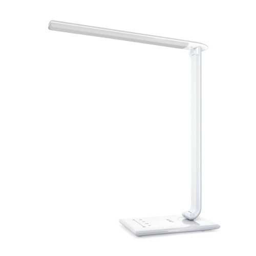 Aukey Desk Lamp 12w Dimmable Led Table Lamp With Usb