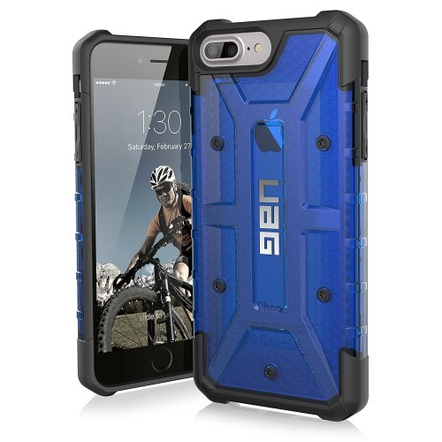 release date: 2d3b4 363fc Urban Armor Gear Fitted Hard Shell Case for iPhone 6S Plus;iPhone 8  Plus;iPhone 7 Plus - Blue