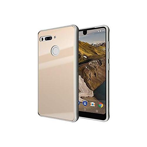 best service b7571 f0b18 Essential Phone PH-1 Case, TUDIA [Ceramic Feel] Lightweight [GLOST] TPU  Bumper Shock Absorption Cover Featuring [Tempered Glas