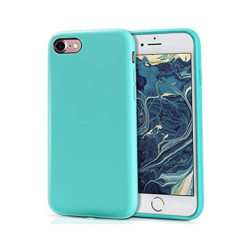 Iphone 8 Silicone Case Iphone 7 Silicone Case Milprox Pretty Series Liquid Silicone Gel Rubber Shockproof Case With Soft Mic Best Buy Canada