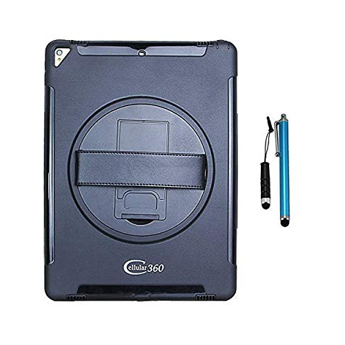 new product 5706c 1935e Cellular360 Apple iPad Pro Shockproof Case with 360 Degrees Swivel Stand  and Handle (Apple iPad Pro 12.9 (1st&2nd Gen.), Black