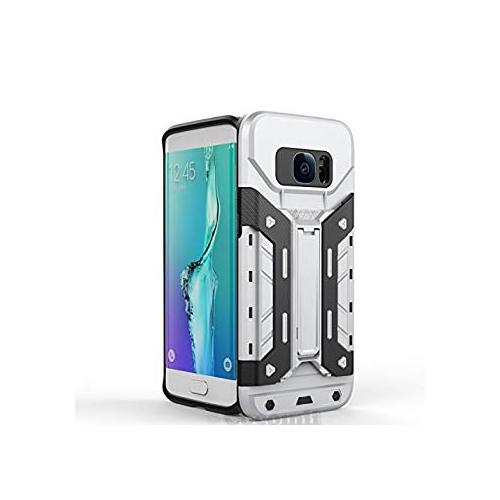 meet 87649 cc3d7 Galaxy S7 Edge Case, Cocomii Transformer Armor NEW [Heavy Duty] Premium  Built-in Multi Card Holder Kickstand Shockproof Hard B