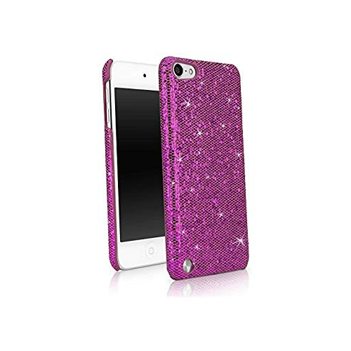 brand new 49848 cd495 BoxWave Glamour & Glitz Apple iPod Touch (5th Generation) Case - Slim  Snap-On Glitter Case, Fun Colorful Sparkle Case for your