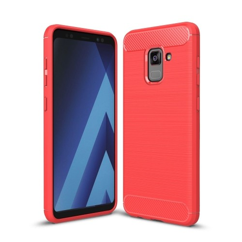 pretty nice 47e1e fc4c8 Ucmda Fitted Soft Shell Case for Samsung Galaxy A8