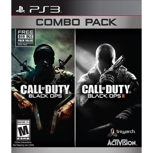 COD Call of Duty Black Ops 1&2 Combo Pack