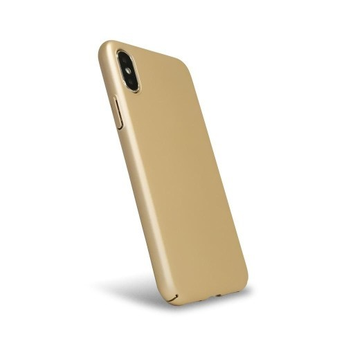quality design a67d4 5b9b5 Luxarmor Fitted Hard Shell Case for iPhone X - Gold Bar