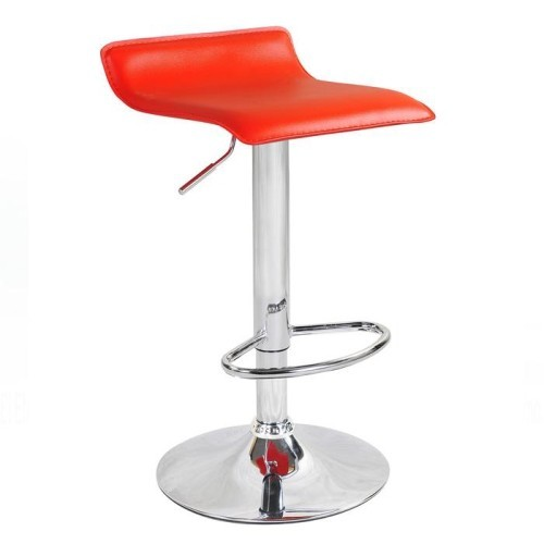 Swell Bronte Series Fiji Leatherette Bar Stool With Adjustable Height And Swivel Seat Design Red Set Of 2 Gmtry Best Dining Table And Chair Ideas Images Gmtryco