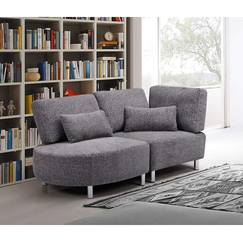 Viscologic Fabric Sectional Sofa