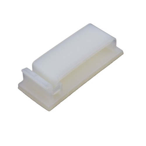 Double Side Self Adhesive Cable Ties Wire Orgnizer Clip Clamp Off