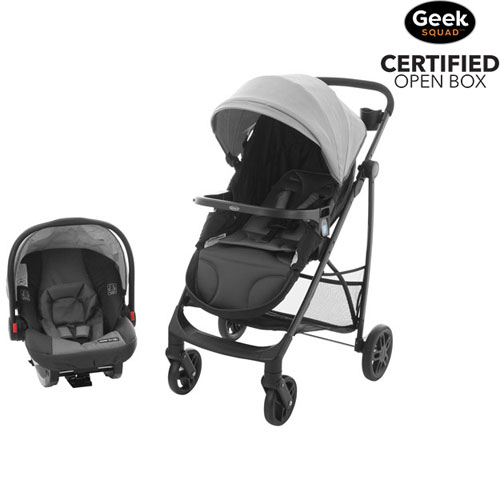 Graco Views Umbrella And Lightweight Stroller With Click Connect Infant Car Seat
