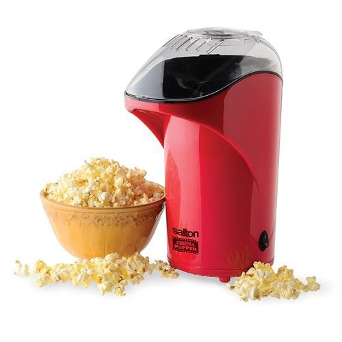 Salton CP1428R Popcorn Maker Red