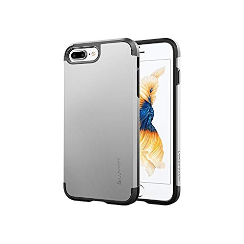 Iphone 7 Plus Case Luvvitt Ultra Armor Shock Absorbing Case Best Heavy Duty Dual Layer Tough Cover For Apple Iphone 7 Plus Best Buy Canada