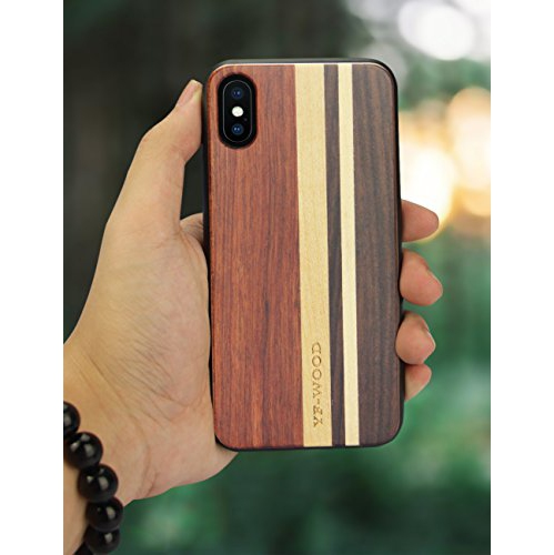 best authentic c0432 d424d Yfwood Fitted Hard Shell Case for iPhone X