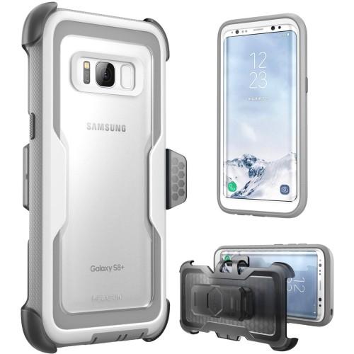 meet b66d2 7c3a9 I-Blason Fitted Hard Shell Case for Samsung Galaxy S8 Plus - White