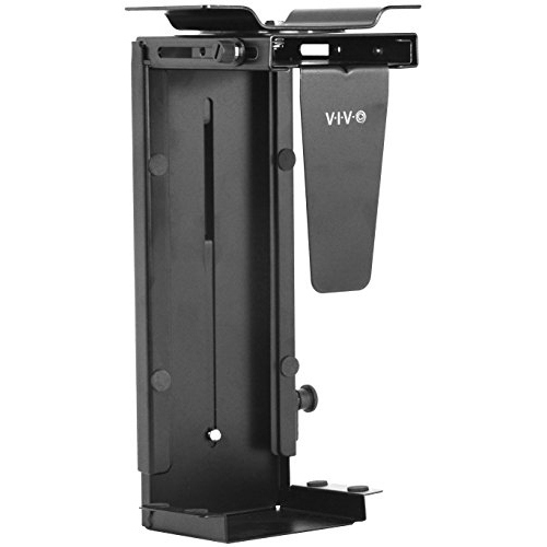 Vivo Adjustable Under Desk And Wall Pc Mount Computer