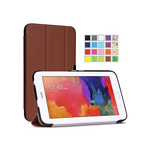 ca816e3a408 Tisuns Samsung Galaxy Tab E Lite 7.0 Case - Ultra Slim Lightweight Stand  Cover for Samsung Galaxy Tab 3 Lite 7.0 SM-T110   SM-
