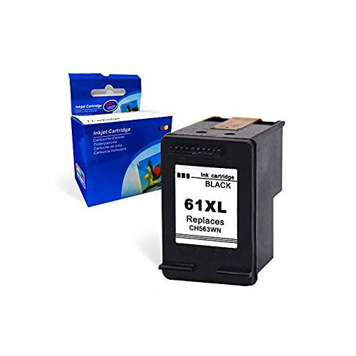 4INX Remanufactured Ink Cartridge Replacement for HP 61XL CH563WN Black for  HP Officejet 4630 4635 4632 Envy 5530 4500 4501 45