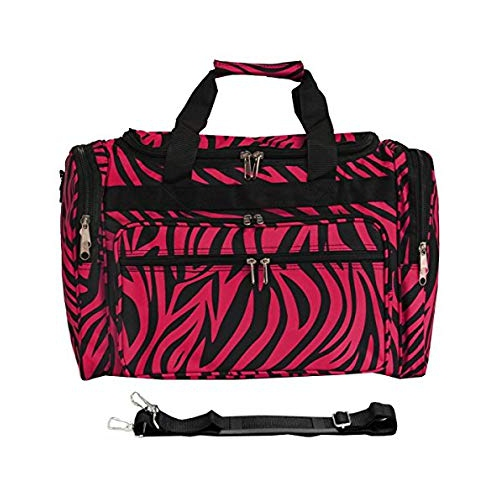 e53b517874 World Traveler Zebra 22-Inch Travel Duffle Bag