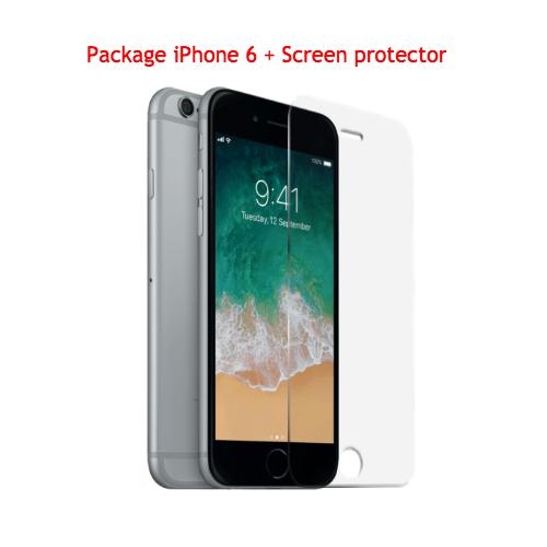 6f595cd98f9f66 Apple iPhone 6 128gb en Gris sidéral débloqué, Reconditionné à neuf +  Protecteur d écran en film anti-choc   iPhone 6 - Best Buy Canada