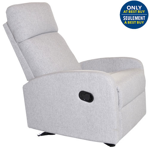 Kidiway Santa Maria Glider Light Grey Glider Chairs Rockers