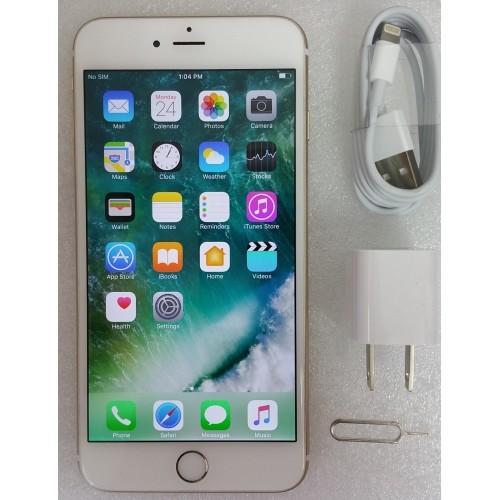 apple iphone 6 plus 128gb a1522 unlocked gold refurbished. Black Bedroom Furniture Sets. Home Design Ideas