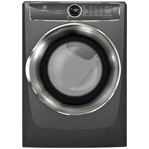 Electrolux 8.0 Cu. Ft. Electric Steam Dryer (EFMC627UTT) - Titanium