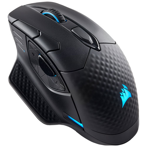 Corsair Dark Core RGB 16000 DPI Bluetooth Optical Gaming Mouse - Black CH-9315211-NA