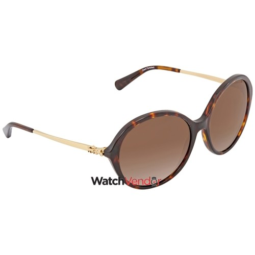 48c6b79e4d0c sweden coach brown gradient round sunglasses hc8214 5485t5 56 sunglasses  best buy canada 3f0d5 969b0
