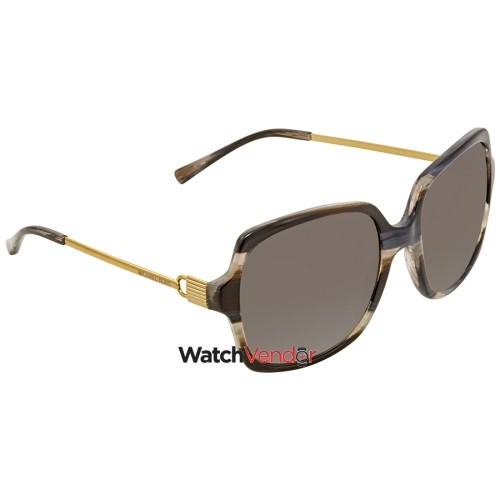 66b51b11a927d0 Michael Kors Bia Grey Gradient Square Ladies Sunglasses MK2053-328911-56   Lunettes  de soleil - Best Buy Canada