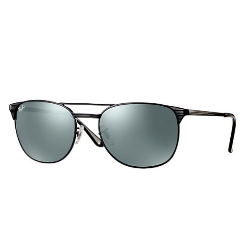 206e965b682 Ray Ban Signet Silver Mirror Rectangular Men s Sunglasses RB3429M 002 40 55  - Online Only